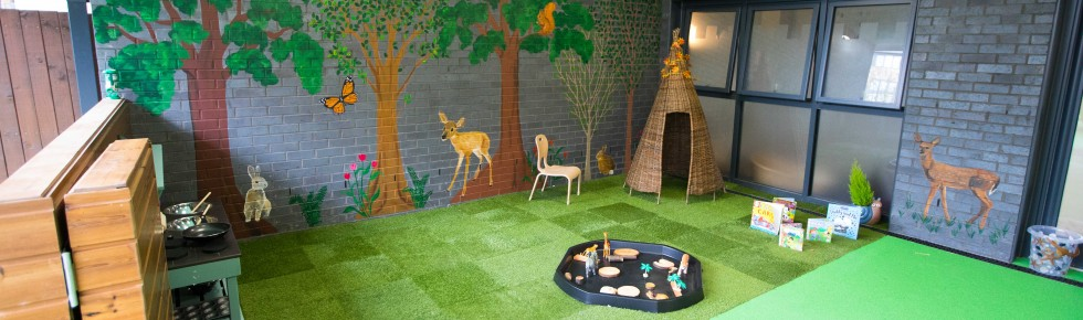 Bright Little Stars Nursery Stanmore - Milky Way garden