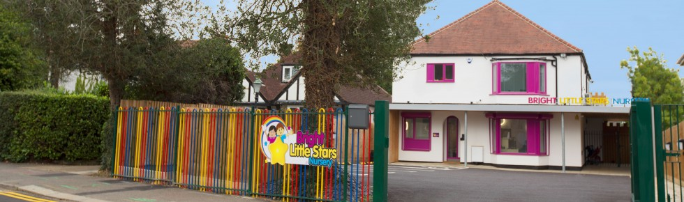 Bright Little Stars Nursery Watford - front of building