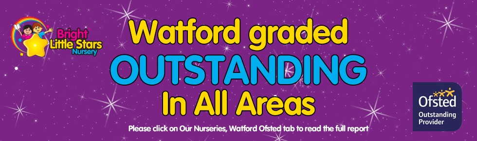 Bright Little Stars Nursery Watford - Outstanding banner